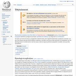 Tittytainment