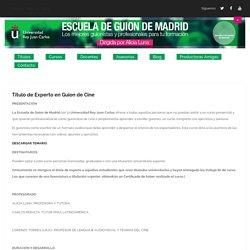 Título Experto en Guion de Cine - Curso ON LINE - Escuela de Guion de Madrid