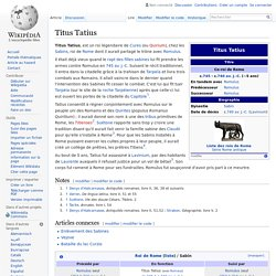 Titus Tatius