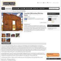 Tiwanaku - Tihaunaco - Bolivia - Pre Inca Ruins