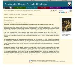 Le TITIEN, musée des BA de Bordeaux