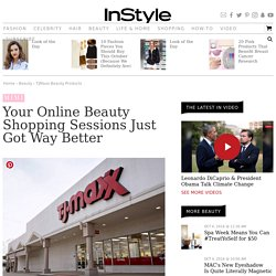 TJMaxx.com Launches Beauty