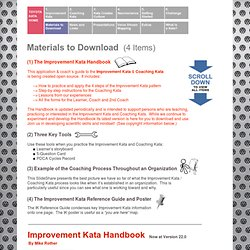 TK Materials to Download