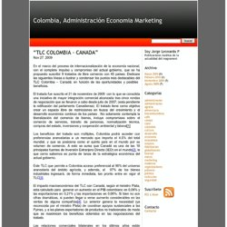 """TLC COLOMBIA - CANADA"""