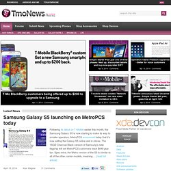 Unofficial T-Mobile News, Videos, Articles and more