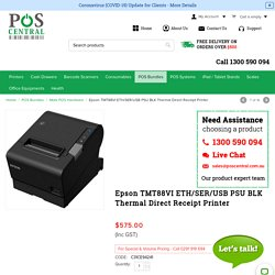 Buy Epson TMT88VI ETH/SER/USB PSU BLK at Discounted Prices