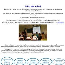 TNI et interactivité