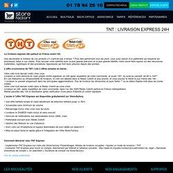 TNT : livraison express 24h
