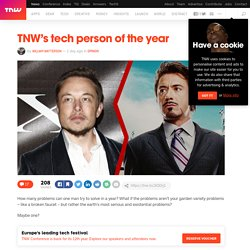 TNW's tech person of the year