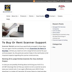 Scanners on Rent