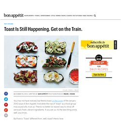 Toast Is Still Happening. Get on the Train.