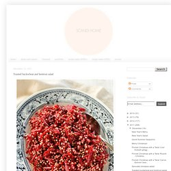 Scandi Home: Toasted buckwheat and beetroot salad
