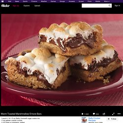 Warm Toasted Marshmallow S'more Bars | Flickr : partage de photos !