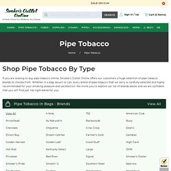 Pipe Tobacco Online at Smoker's Outlet Online