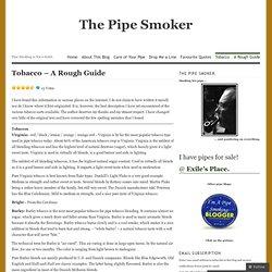 Tobacco – A Rough Guide