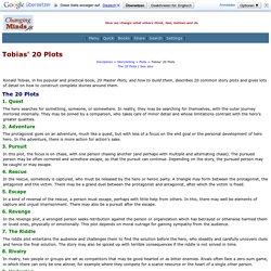 Tobias' 20 Plots