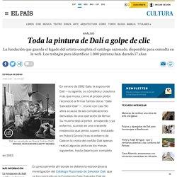 Toda la pintura de Dalí a golpe de clic