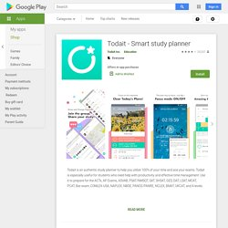 Todait - Smart study planner - Apps on Google Play