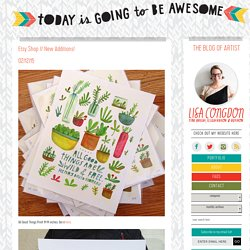 Today is going to be awesome. | The blog of artist Lisa Congdon