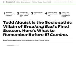 Who Was Todd Alquist in 'Breaking Bad'? - Is Todd in El Camino?