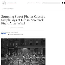 Todd Webb's Photographs of Post-War New York on Exhibit