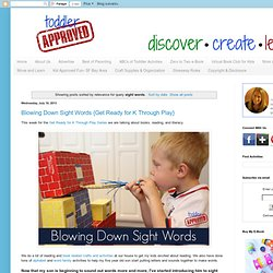 Search results for sight words