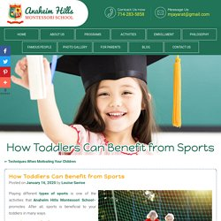 How Toddlers Can Benefit from Sports