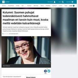 Kolumni: Suomen puhujat todennäköisesti hahmottavat maailman eri tavoin kuin ...