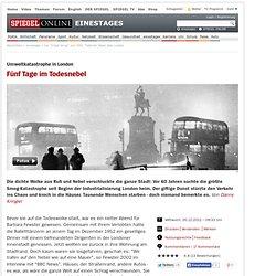 """Der """"Great Smog"""" von 1952: Tödlicher Nebel über London"""