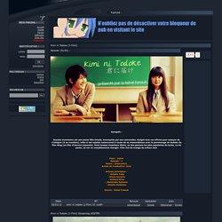 Kimi ni Todoke [J-Film] VOSTFR Streaming DDL HD