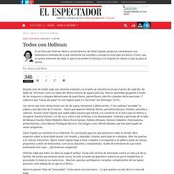 La lucha de un Periodista en Colombia.
