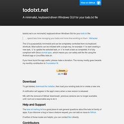 todotxt.net