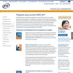 TOEFLiBT: Préparation au test