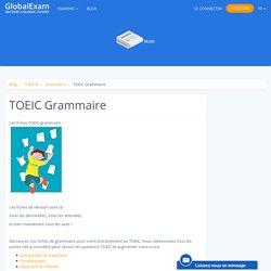 TOEIC Grammaire
