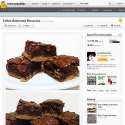Toffee Bottomed Brownies - StumbleUpon