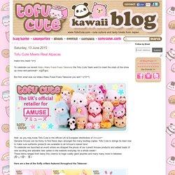 Tofu Cute Official Blog: Tofu Cute Meets Real Alpacas