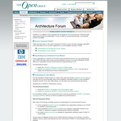 TOGAF® Version 9.1 - Download