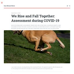 We Rise and Fall Together: Assessment during COVID-19