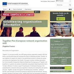 Together Pan European network organisation asbl