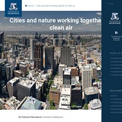 Cities and nature working together for clean air