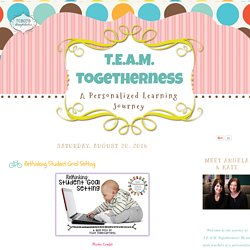 T.E.A.M. Togetherness: Rethinking Student Goal Setting
