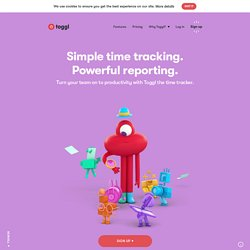 Toggl - Time tracking that works