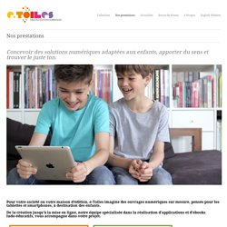 e-Toiles éditions » Nos prestations