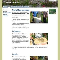 Toilettes sèches - Ecologie pratique