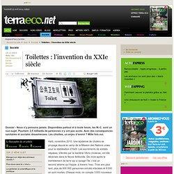 Toilettes : l'invention du XXIe siècle