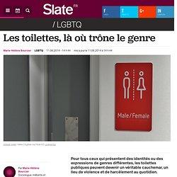Les toilettes, là où trône le genre
