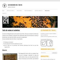 Toits de ruches et ruchettes