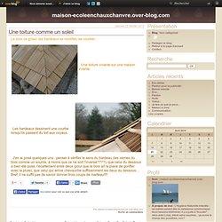 Une toiture comme un soleil - maison-ecoleenchauxchanvre.over-blog.com