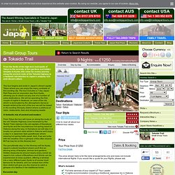 Tokaido Trail - Japan Small Group Tours