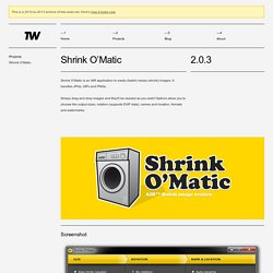 TOKI WOKI. Shrink O'Matic